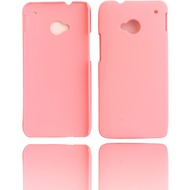 Twins Shield Matte für HTC One (M7), pink