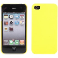 Twins Shield Matte f�r iPhone 4/ 4S, gelb