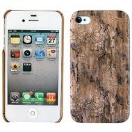 Twins Shield Wood für iPhone 4/ 4S, dunkelbraun