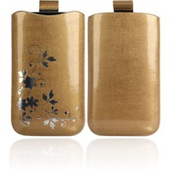 Twins Shiny Pouch Elegance für iPhone 3G/ 4/ 4S, gold