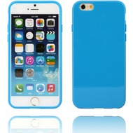 Twins Soft Case glossy für iPhone 6 blau