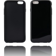 Twins Soft Case glossy mit abgerundeten Kanten für iPhone 6 Plus-schwarz