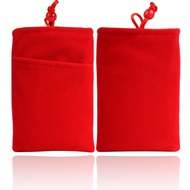Twins Universaltasche Soft Pearl Extra, rot