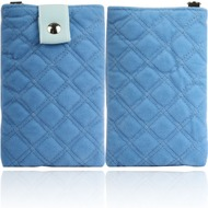 Twins Universaltasche Soft Pouch Square, blau
