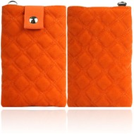 Twins Universaltasche Soft Pouch Square, orange