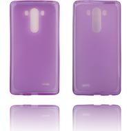 Twins Softcase Struktur für LG G3,lila