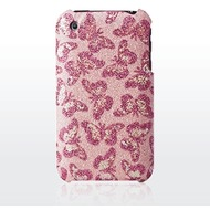 ultra-case Butterfly für iPhone 3G, Pink