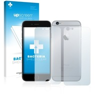 upscreen Bacteria Shield Clear Premium Displayschutzfolie für Apple iPhone 6 (Vorder + Rückseite)