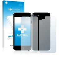 upscreen Bacteria Shield Clear Premium Displayschutzfolie für Apple iPhone 7 (Vorder + Rückseite)
