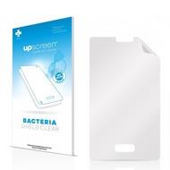 upscreen Bacteria Shield Clear Premium Displayschutzfolie für LG Electronics E400 L3
