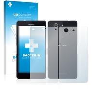 upscreen Bacteria Shield Clear Premium Displayschutzfolie für Sony Xperia Z3 Compact D5803 (Vorder + Rückseite)