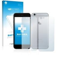 upscreen Bacteria Shield Matte Premium Displayschutzfolie für Apple iPhone 6S (Vorder + Rückseite)