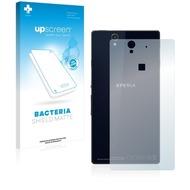 upscreen Bacteria Shield Matte Premium Displayschutzfolie für Sony Xperia Z C6603 (Rückseite)