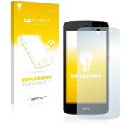 upscreen Reflection Shield Matte Premium Displayschutzfolie für Acer Liquid Zest