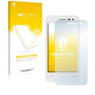 upscreen Reflection Shield Matte Premium Displayschutzfolie für Alcatel One Touch Pop S3