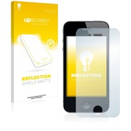 upscreen Reflection Shield Matte Premium Displayschutzfolie für Apple iPhone 4