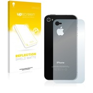 upscreen Reflection Shield Matte Premium Displayschutzfolie für Apple iPhone 4 (Rückseite)