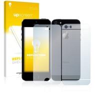 upscreen Reflection Shield Matte Premium Displayschutzfolie für Apple iPhone 5S (Vorder + Rückseite)
