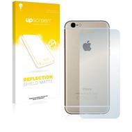 upscreen Reflection Shield Matte Premium Displayschutzfolie für Apple iPhone 6S Rückseite (gesamte Fläche)