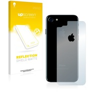upscreen Reflection Shield Matte Premium Displayschutzfolie für Apple iPhone 7 Rückseite (gesamte Fläche + LogoCut)