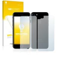upscreen Reflection Shield Matte Premium Displayschutzfolie für Apple iPhone 7 (Vorder + Rückseite)