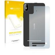 upscreen Reflection Shield Matte Premium Displayschutzfolie für Kodak IM5 Rückseite