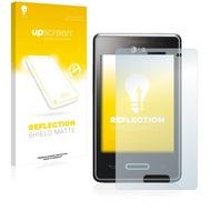 upscreen Reflection Shield Matte Premium Displayschutzfolie für LG Electronics E430 Optimus L3 II
