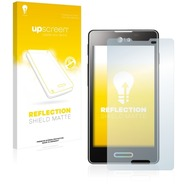 upscreen Reflection Shield Matte Premium Displayschutzfolie für LG Electronics E460 Optimus L5 II