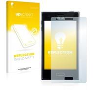 upscreen Reflection Shield Matte Premium Displayschutzfolie für LG Electronics E610 Optimus L5