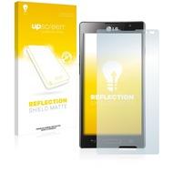 upscreen Reflection Shield Matte Premium Displayschutzfolie für LG Electronics P760 Optimus L9