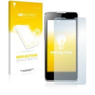 upscreen Reflection Shield Matte Premium Displayschutzfolie für Mobistel Cynus E5