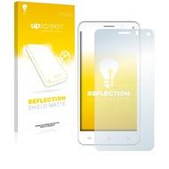 upscreen Reflection Shield Matte Premium Displayschutzfolie für Mobistel Cynus F6