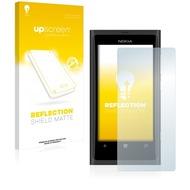 upscreen Reflection Shield Matte Premium Displayschutzfolie für Nokia Lumia 800