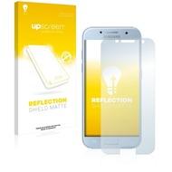 upscreen Reflection Shield Matte Premium Displayschutzfolie für Samsung Galaxy A3 (2017)