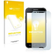 upscreen Reflection Shield Matte Premium Displayschutzfolie für Samsung Galaxy J1 (2015)