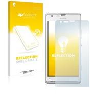 upscreen Reflection Shield Matte Premium Displayschutzfolie für Sony Xperia SP LTE C5306