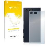 upscreen Reflection Shield Matte Premium Displayschutzfolie für Sony Xperia X Compact (Rückseite)