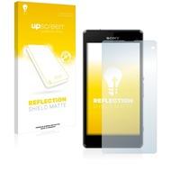 upscreen Reflection Shield Matte Premium Displayschutzfolie für Sony Xperia Z1 Compact D5503