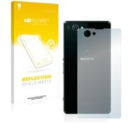 upscreen Reflection Shield Matte Premium Displayschutzfolie für Sony Xperia Z1 Compact D5503 (Rückseite)