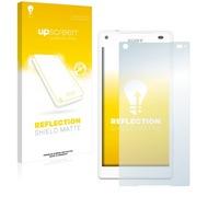 upscreen Reflection Shield Matte Premium Displayschutzfolie für Sony Xperia Z5 Compact
