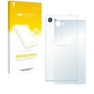 upscreen Reflection Shield Matte Premium Displayschutzfolie für Sony Xperia Z5 Compact (Rückseite)