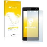 upscreen Reflection Shield Matte Premium Displayschutzfolie für Wiko Ridge