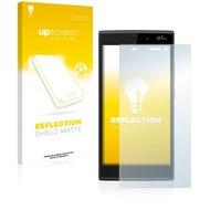 upscreen Reflection Shield Matte Premium Displayschutzfolie für Wiko Ridge 4G