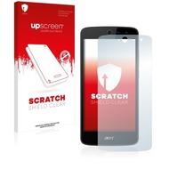 upscreen Scratch Shield Clear Premium Displayschutzfolie für Acer Liquid Zest