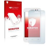 upscreen Scratch Shield Clear Premium Displayschutzfolie für Alcatel One Touch Pop S3