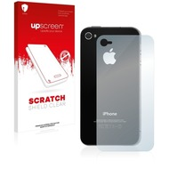 upscreen Scratch Shield Clear Premium Displayschutzfolie für Apple iPhone 4 (Rückseite)