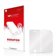 upscreen Scratch Shield Clear Premium Displayschutzfolie für Apple iPhone 4 (Vorder + Rückseite)