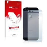 upscreen Scratch Shield Clear Premium Displayschutzfolie für Apple iPhone 5S Rückseite (gesamte Fläche)