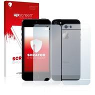 upscreen Scratch Shield Clear Premium Displayschutzfolie für Apple iPhone 5S (Vorder + Rückseite)