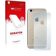 upscreen Scratch Shield Clear Premium Displayschutzfolie für Apple iPhone 6S Rückseite (gesamte Fläche + LogoCut)